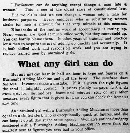 1915's sexism